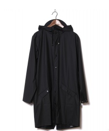 Rains Rains Rainjacket Long black