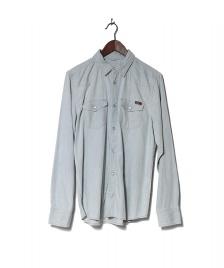 Carhartt WIP Carhartt WIP Shirt Kansas blue stone bleached