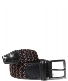 Andersons Andersons Belt Woven blue/brown