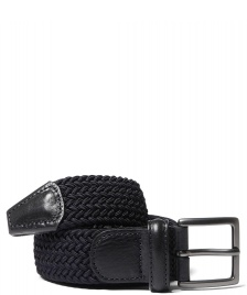 Andersons Andersons Belt Woven blue