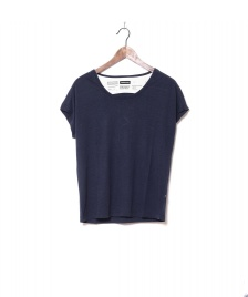 Freitag F-abric Freitag W T-Shirt Scoop Neck blue dark