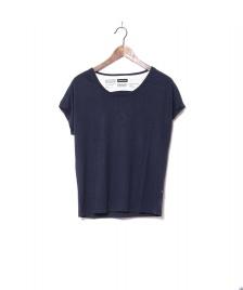 Freitag F-abric Freitag W T-Shirt Scoop Neck blue dark