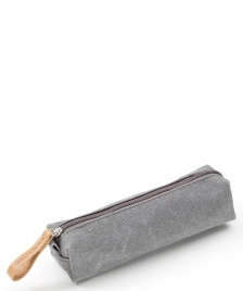 Qwstion Qwstion Pencil Case organic washed grey