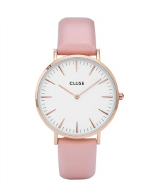 Cluse Cluse Watch La Boheme pink/white rose gold
