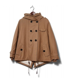 Sessun Sessun W Coat Sandison beige honey brown
