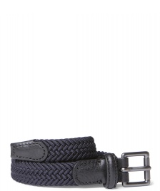 Andersons Andersons Belt Slim Woven blue