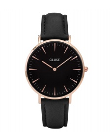 Cluse Cluse Watch La Boheme black/black rose gold