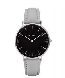 Cluse Cluse Watch La Boheme grey/black silver