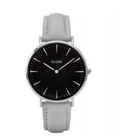 Cluse Cluse Watch La Boheme grey/black silver