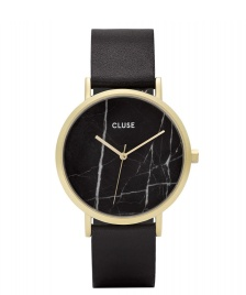 Cluse Cluse Watch La Roche black/black marble gold