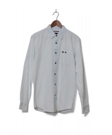 RVCA Shirt Cirrus blue faded indigo