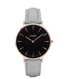 Cluse Cluse Watch La Boheme grey/black rose gold