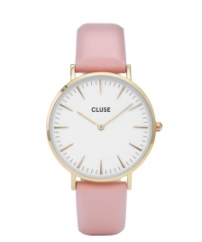 Cluse Cluse Watch La Boheme pink/white gold