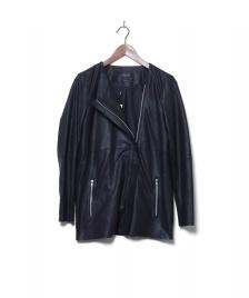 Selected Femme Selected Femme Leatherjacket Sfgrey black