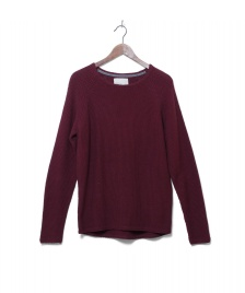 Revolution (RVLT) Revolution Knit Pullover 6261 Pattern red bordeaux