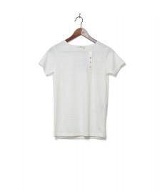 Sessun Sessun W T-Shirt Yomejima white fleur de sel