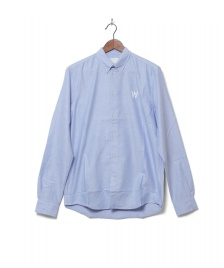 Wood Wood Wood Wood Shirt Timothy blue grey daw