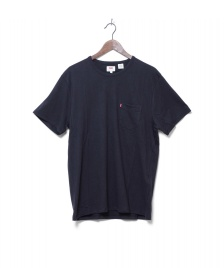 Levis Levis T-Shirt Sunset Pocket black jet