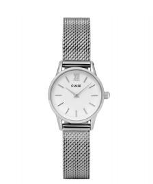 Cluse Cluse Watch La Vedette Mesh silver/white