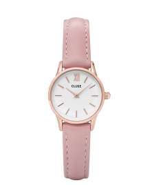 Cluse Cluse Watch La Vedette pink/white rosegold