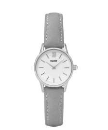 Cluse Cluse Watch La Vedette grey/white silver