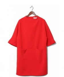 Selected Femme Selected Femme Dress Sflava red flame scarlet