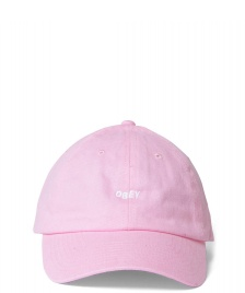 Obey Obey 6 Panel Jumble pink