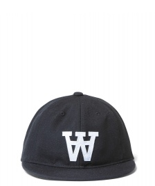 Wood Wood Wood Wood 6 Panel Baseball black