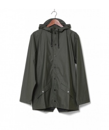 Rains Rains Rainjacket Short green