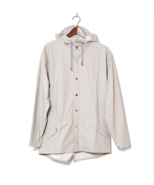 Rains Rains Rainjacket Short beige moon