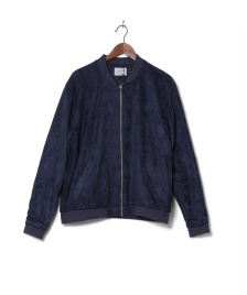 Legends Legends Bomberjacket Flores blue navy