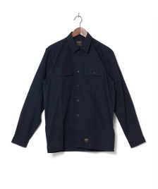 Carhartt WIP Carhartt WIP Shirt Mission blue navy stone washed