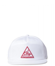 Obey Obey Snap Cap New Federation white
