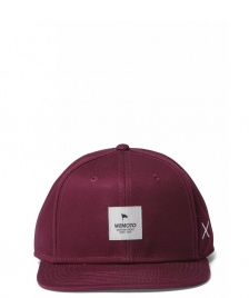 Wemoto Wemoto Snap Cap Flag red burgundy