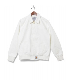 Carhartt WIP Carhartt WIP Jacket Santa Fe white wax rinsed