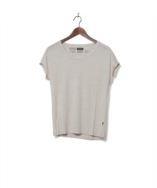 Freitag F-abric Freitag W T-Shirt Scoop Neck beige nature