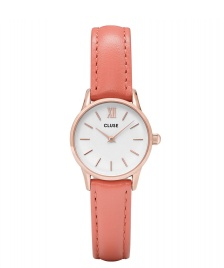 Cluse Cluse Watch La Vedette orange flamigo/white rosegold