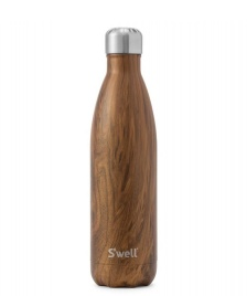 Swell Swell Water Bottle LG brown teakwood