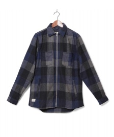 Revolution (RVLT) Revolution Jacket Shirt Check blue