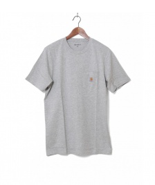 Carhartt WIP Carhartt WIP T-Shirt Pocket grey heather