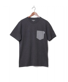Carhartt WIP Carhartt WIP T-Shirt Pocket black heather/grey