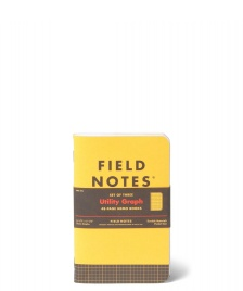 Field Notes Field Notes Utility Graph 3 Pack yellow
