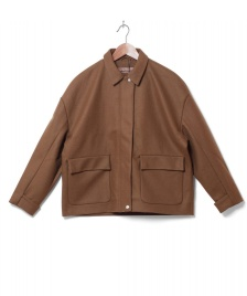 Selfhood Selfhood W Coat 77060 brown khaki