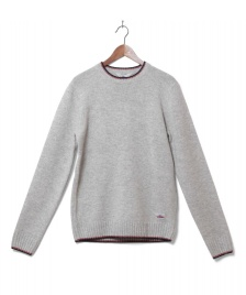 Penfield Penfield Knit Pullover Gering grey light