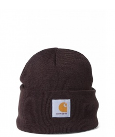 Carhartt WIP Carhartt WIP Beanie Short Watch brown tobacco
