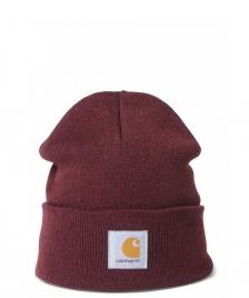 Carhartt WIP Carhartt WIP Beanie Short Watch red amarone