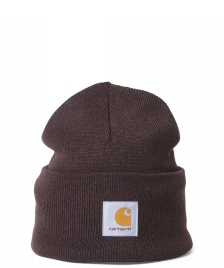 Carhartt WIP Carhartt WIP Beanie Acrylic Watch Hat brown tobacco