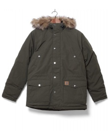 Carhartt WIP Carhartt WIP Winterjacket Trapper Parka green cypress/black