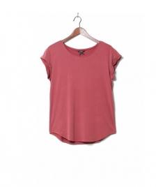 MbyM MbyM W T-Shirt Nisha Rai red rosewood melange