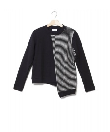 Frisur Frisur W Pullover Rea black/white striped
